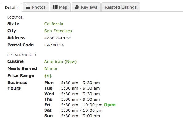 Adding jQuery UI tabs to listing detail page - JReviews