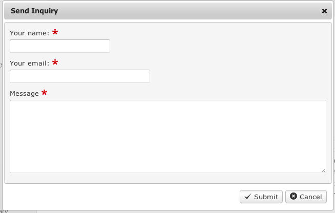 How to add Inquiry Form to listing detail pages - JReviews ...